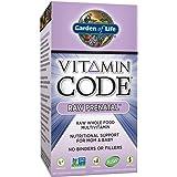 Garden of Life Prenatal Multivitamin - Vitamin Code Raw Prenatal Whole Food Vitamin Supplement for Mom and Baby, Vegetarian, 90 Capsules