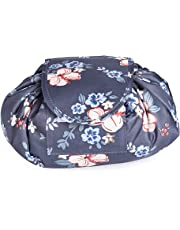 Travel Makeup Bag,FOME Portable Makeup Bag Organizer Multifunction Waterproof Magic Cosmetic Pouch Large Capacity Cosmetic Bag Drawstring Quick Pack Travel Toiletry Bag for Travel Bathroom