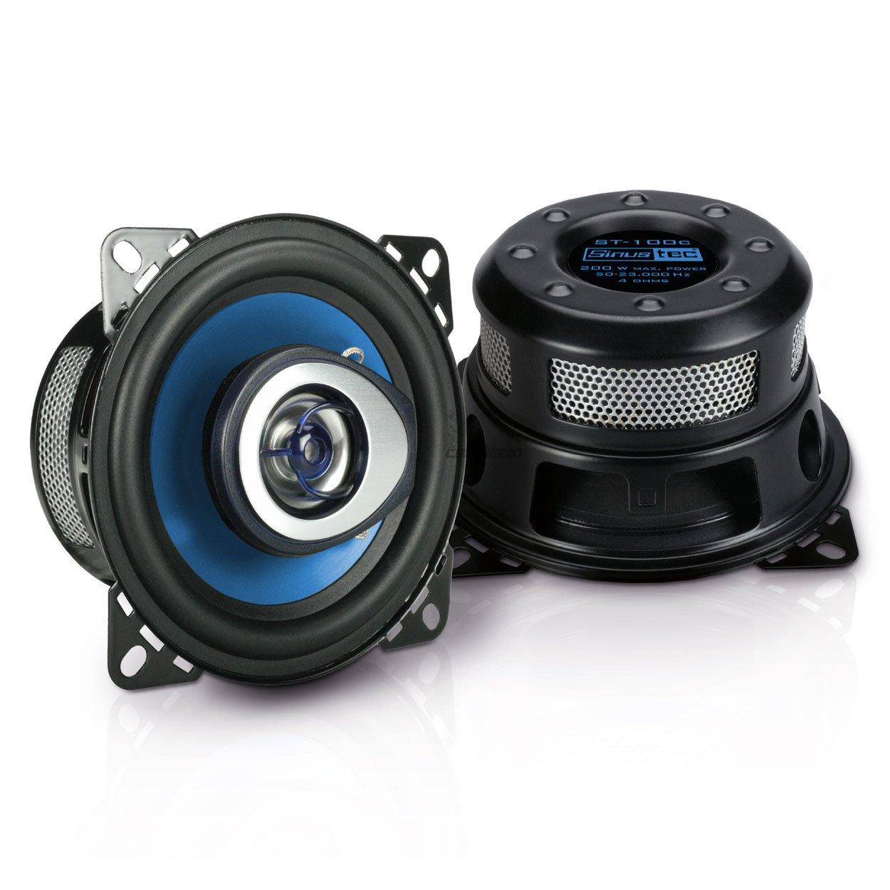 Sinustec Lautsprecher 100mm Koax Armaturenbrett oder Dachhimmel Hinten Opel Agila 00-07