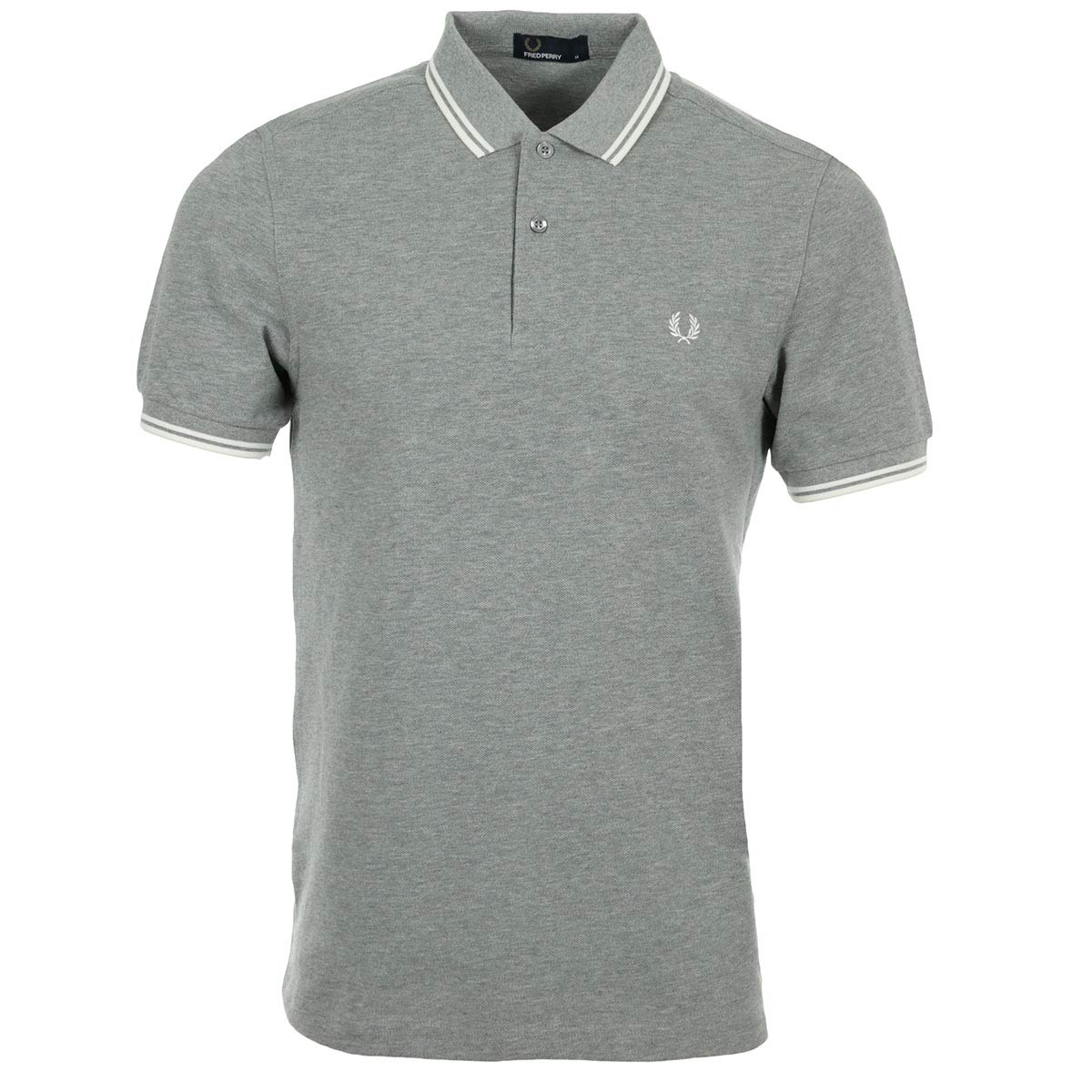 Fred Perry Polo Manga Corta 4410h38 Gris Hombre Talla: M: Amazon ...