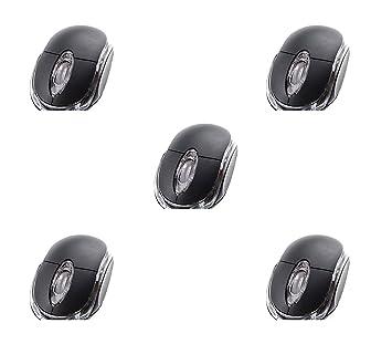 [Negro] 5 Unidades Allen 3 Botones 3D USB 800 dpi Ratón óptico Scroll Ratón con Cable para Portátil para Ordenador Portátil de Escritorio: Amazon.es: ...