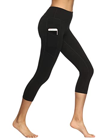 610170613a94a Fengbay High Waist Yoga Pants, Pocket Yoga Pants Tummy Control Workout  Running 4 Way Stretch