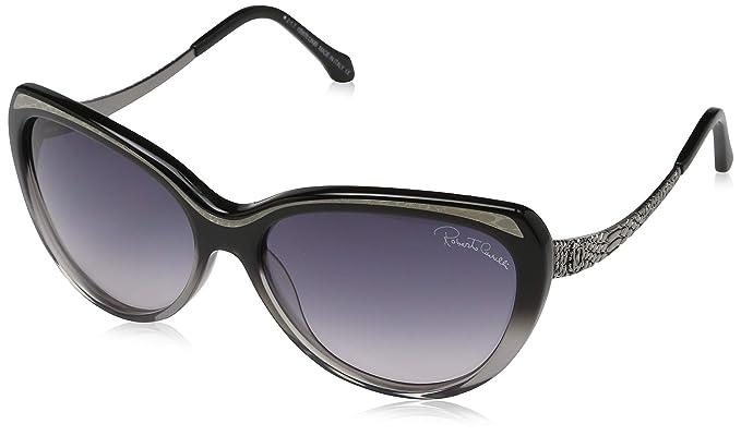 Roberto Cavalli Gafas de sol para Mujer, Negro (Black) 59.0 ...