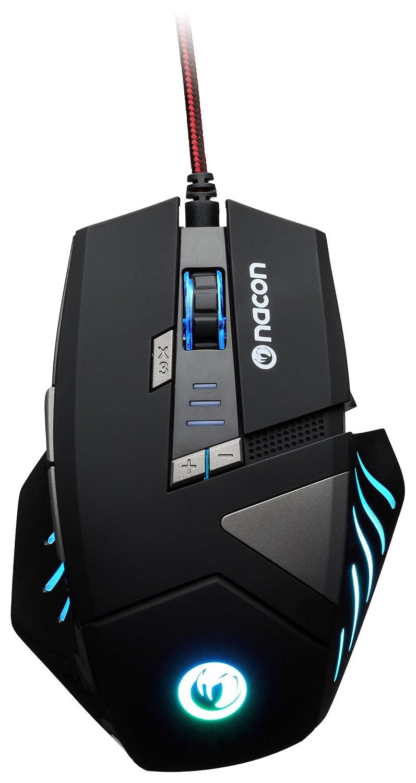 NACON GM-300 Optical Gaming Maus (2500dpi, mehrfarbige Beleuchtung) NA331769 Zubehör