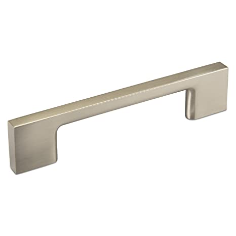 SO-Tech ® Tirador para Mueble BG02 Acero Inoxidable brosser Barra de Mueble, Metal Macizo, 96 mm