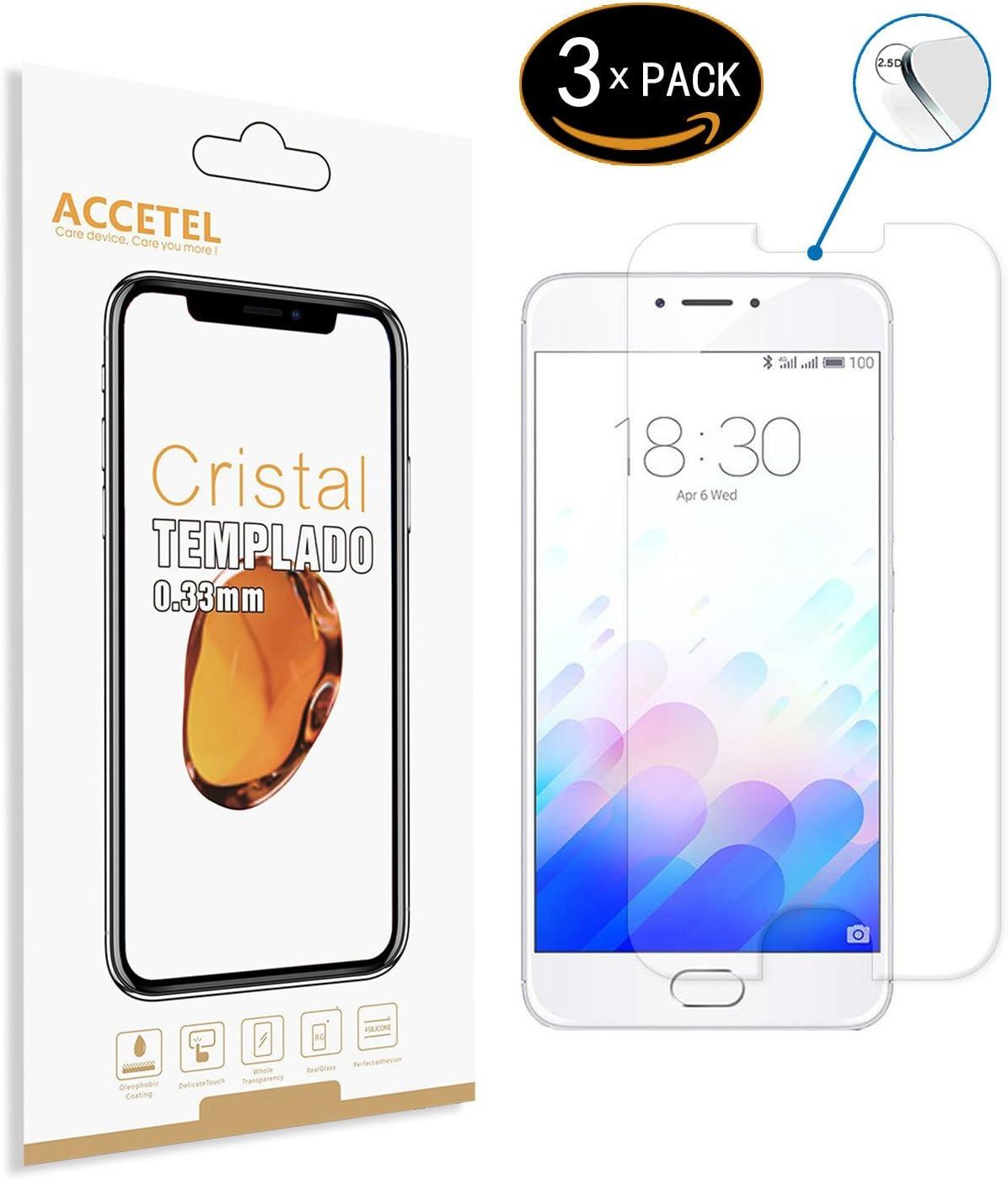 RE3O Protector de Pantalla Compatible con Meizu M3 Note Protector Cristal Vidrio Templado para Meizu M3 Note 5.5 Pulgadas Transparente 2-Pack: Amazon.es: Electrónica