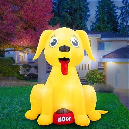 Amazon.com: Holidayana - Decoración inflable para perro ...