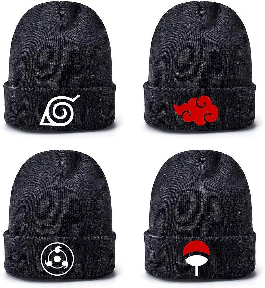 6 Jours Naruto Beanie Bonnet /à Tricoter Bonnet dhiver Coffret Cadeau