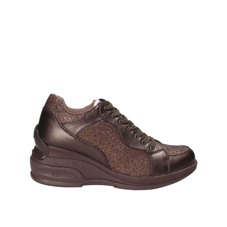 huge selection of da9fa 49f81 Fornarina DAILYBRONZO Sneaker con Zeppa Woman