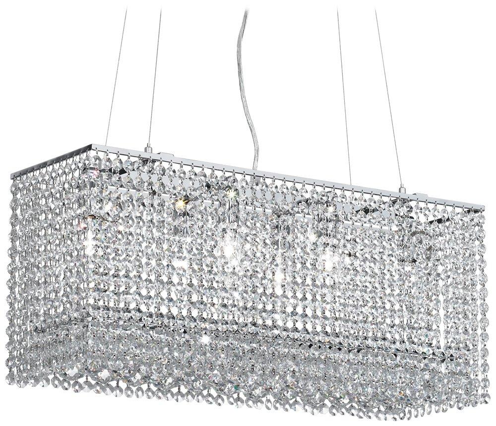 James r moder vesta 6 light imperial crystal chandelier linear james r moder vesta 6 light imperial crystal chandelier linear crystal chandelier amazon aloadofball Image collections