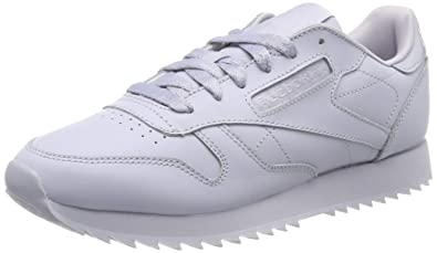 56585bf2e16 Reebok Women s Cl Lthr Ripple Running Shoes  Amazon.co.uk  Shoes   Bags