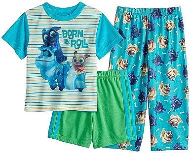 Puppy Dog Pals Little Boys Toddler Four-Piece Pajama Set