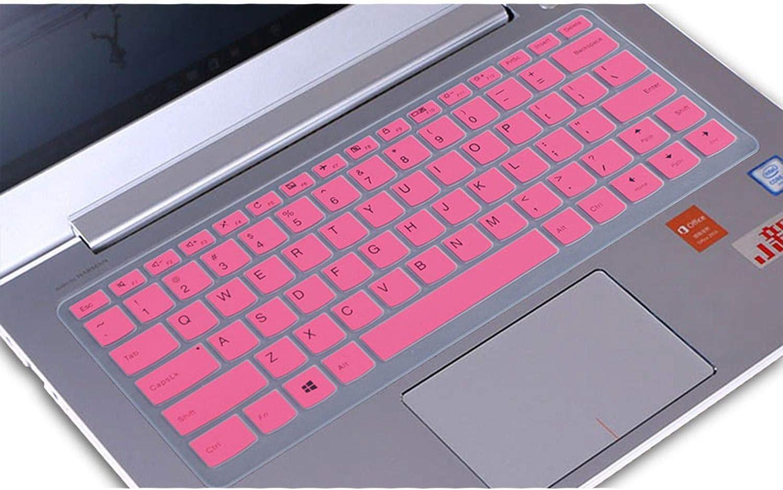 for Lenovo Ideapad 310s 310 510 V310 14 Yoga 710 V310 14ikb 310s 14 14 Inch Silicone Keyboard Protector Cover Skin,Pink