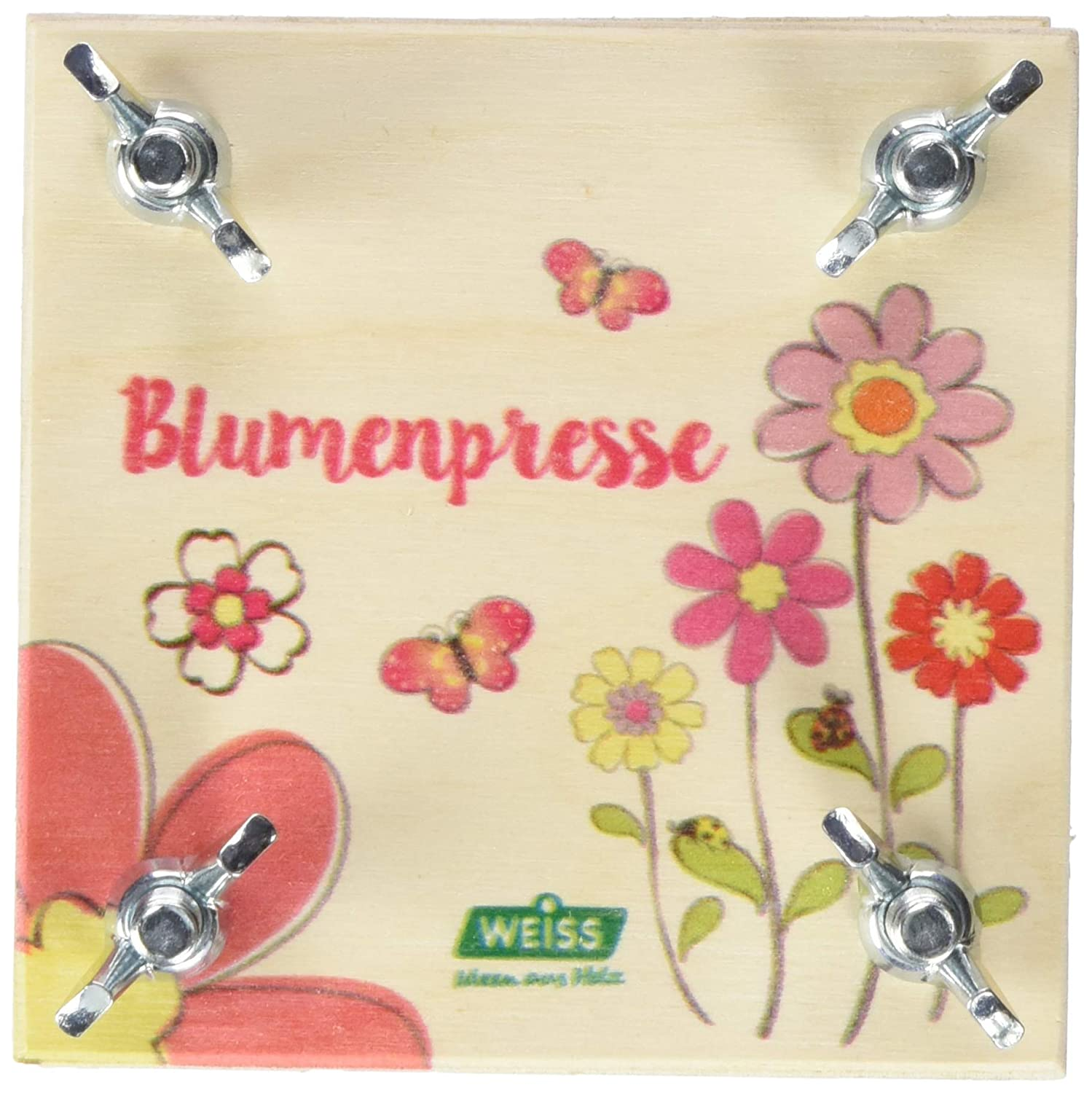 Weiss Natur Pur Weiss Natur PurB09710 Small Colourful Flower Press