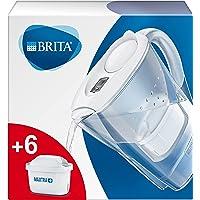 BRITA waterfilterkan Marella verbetert de smaak en vermindert kalk en andere onzuiverheden uit kraanwater, blauw, 2,4L…
