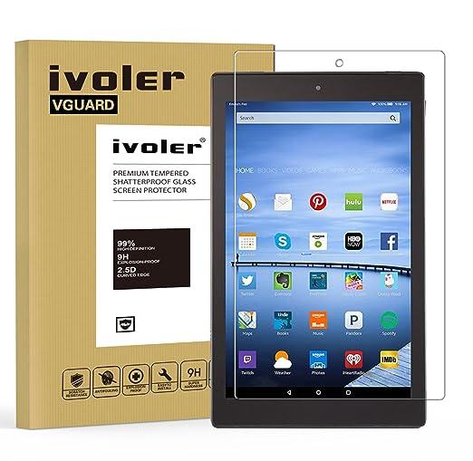 2 opinioni per Amazon Fire HD 10 (2015/5th Gen) Pellicola Protettiva, iVoler® Pellicola