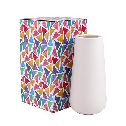 Amazon Dvine Dev Gift Box Packaged 8 Tall Snow White Ceramic