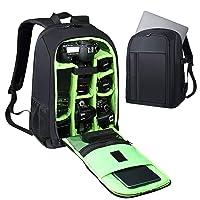 Estarer SLR/DSLR Camera Backpack Waterproof for Nikon Canon Sony Digital Lens GoPro Accessories DJI Mavic Drone 15.6