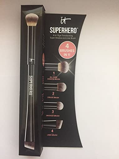 It Cosmetics Superhero 4-in-1 Eye-Transforming Super Shadow and Liner Brush