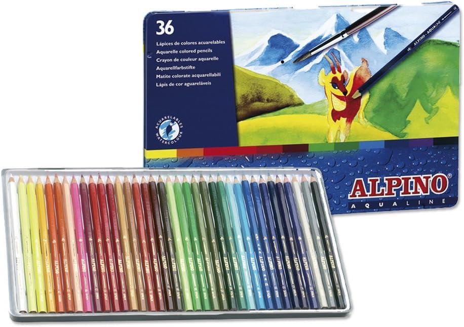 Alpino AL000005 - Lápices, 36 unidades: Amazon.es: Oficina y papelería