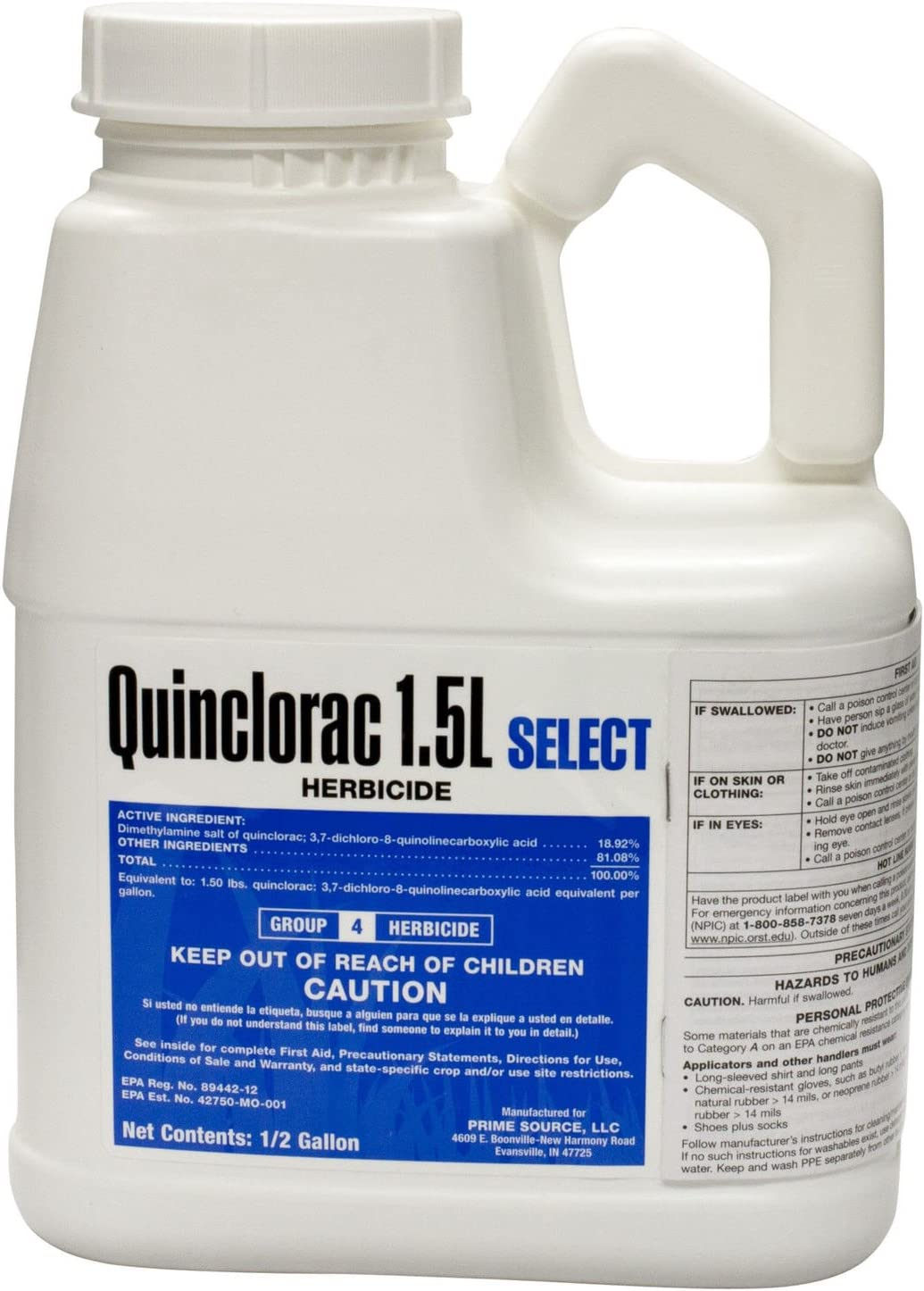 Primesource Quinclorac Crabgrass Killer
