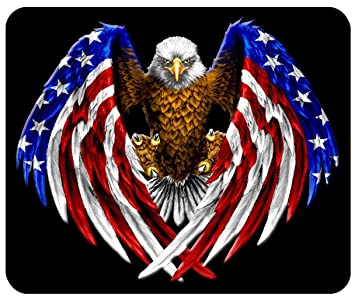 Amazon.com : Patriotic Eagle Custom Mouse Pad from Redeye ...