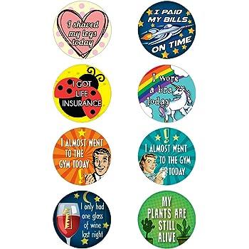 Amazon.com: Lavley 16 Adult Achievement Stickers (Adulting