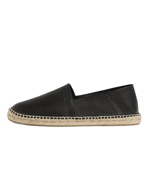 39cf0075 Zara Men Leather and jute espadrilles 2765/302 (43 EU   10 US   9 UK ...