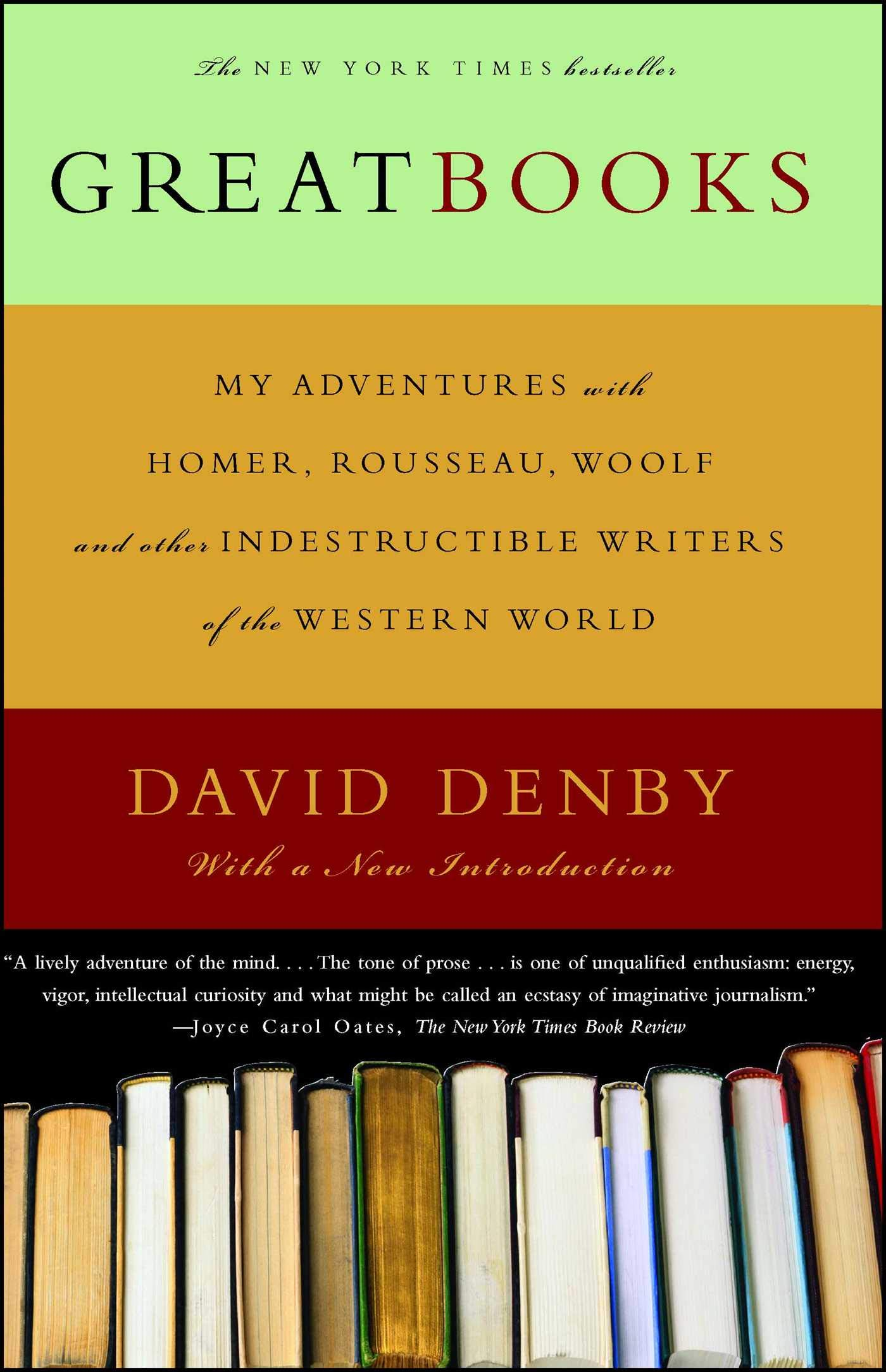Great Books Denby David 9780684835334 Amazon Com Books