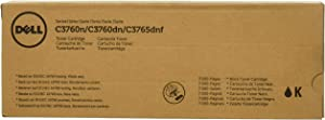 Dell 9F7XK Toner Cartridge C3760N/C3760DN/C3765DNF Color Laser Printer