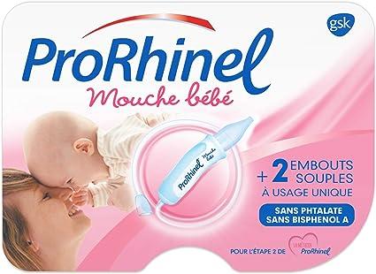 ProRhinel Mouche Bébé avec 2 Embouts