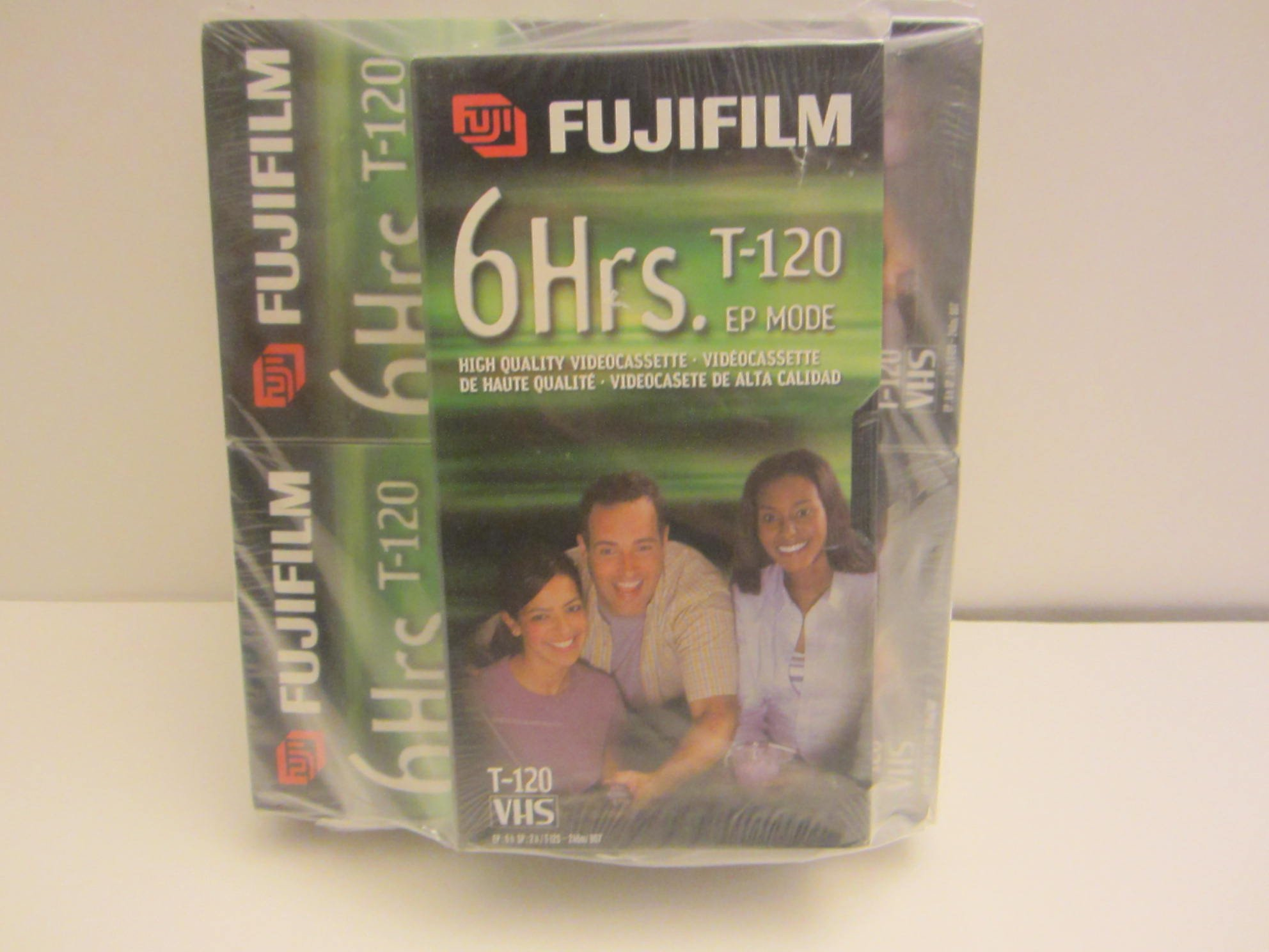 5 Pack of 	Fuji 23021121 HQ T-120 VHS Video Cassettes by Fuji