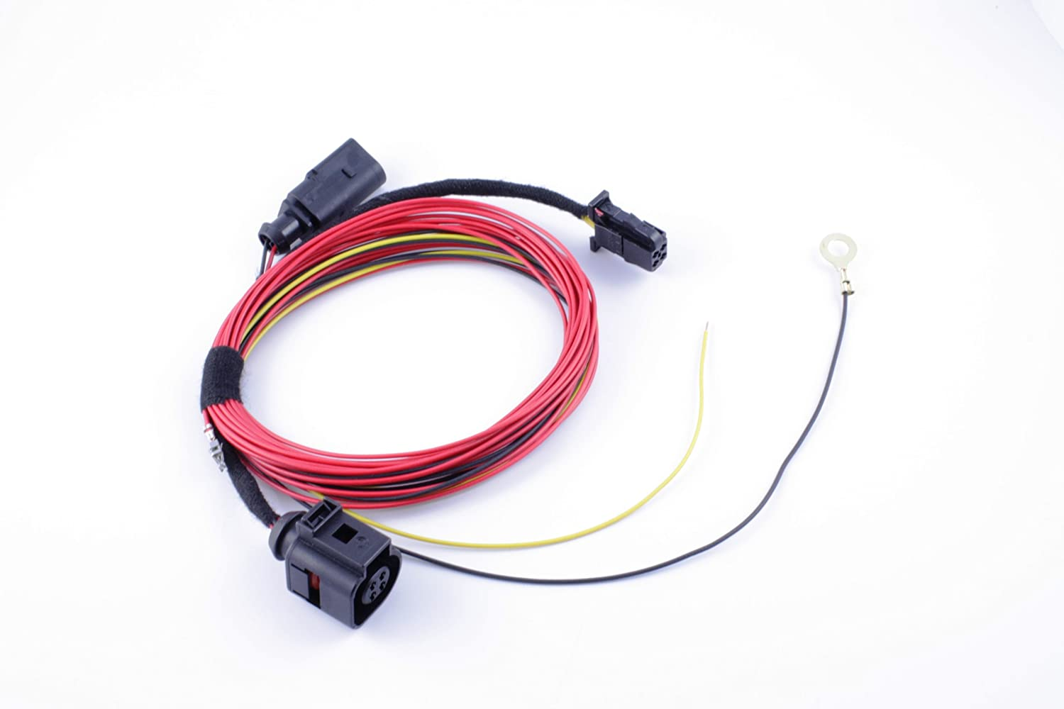 Genuine Volkswagen Backup Camera Kit For Mk6 Ford Sensor Wiring Harness Kits Gti 2010 2013 Automotive