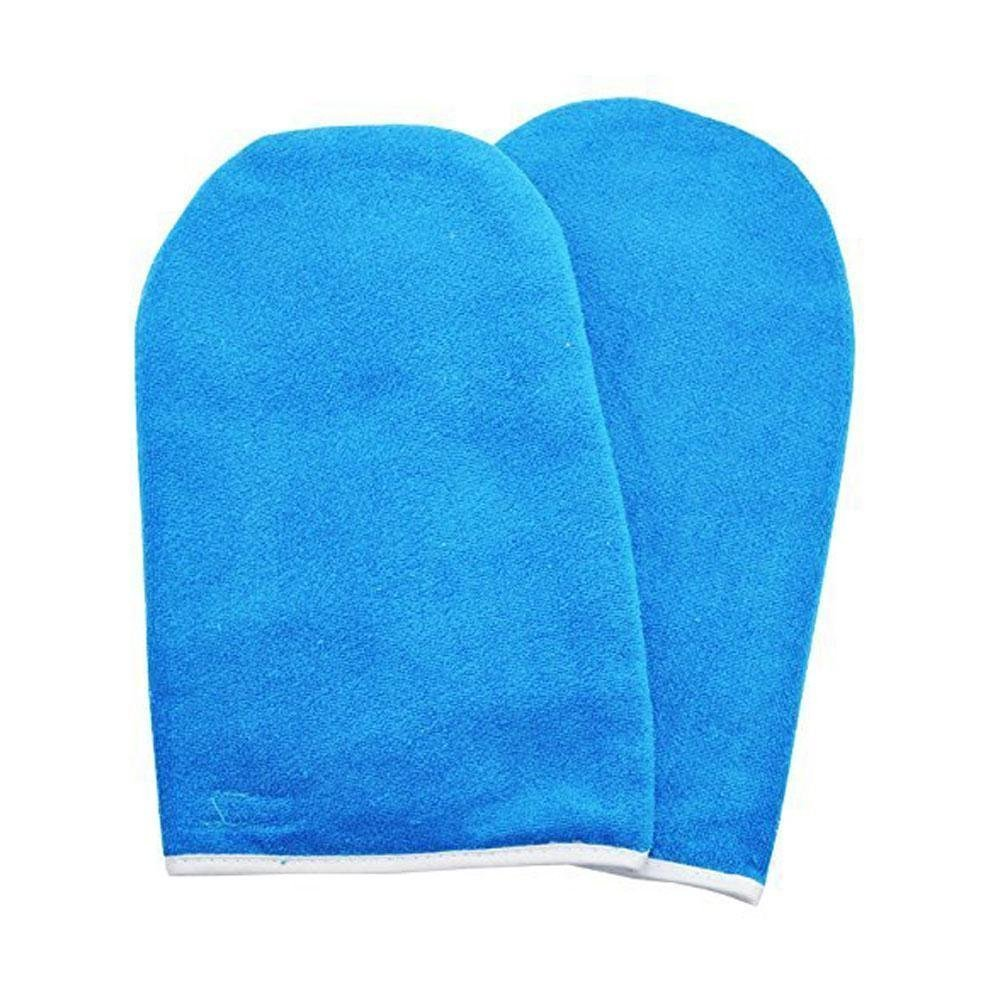BestOfferBuy Paraffin Wax Manicure Protection Treatment Hand Gloves Mitts Cotton Blue Beauties Factory #391BU
