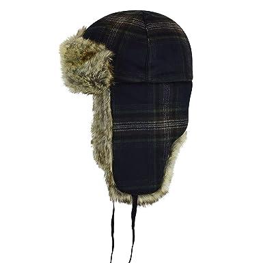 e30cc1ad84b56 Kangol Men s Wool Ushanka Trapper Hat at Amazon Men s Clothing store