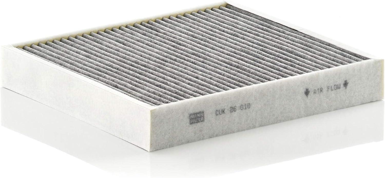 Original Mann Filter Innenraumfilter Cuk 26 010 Pollenfilter Mit Aktivkohle Für Pkw Auto