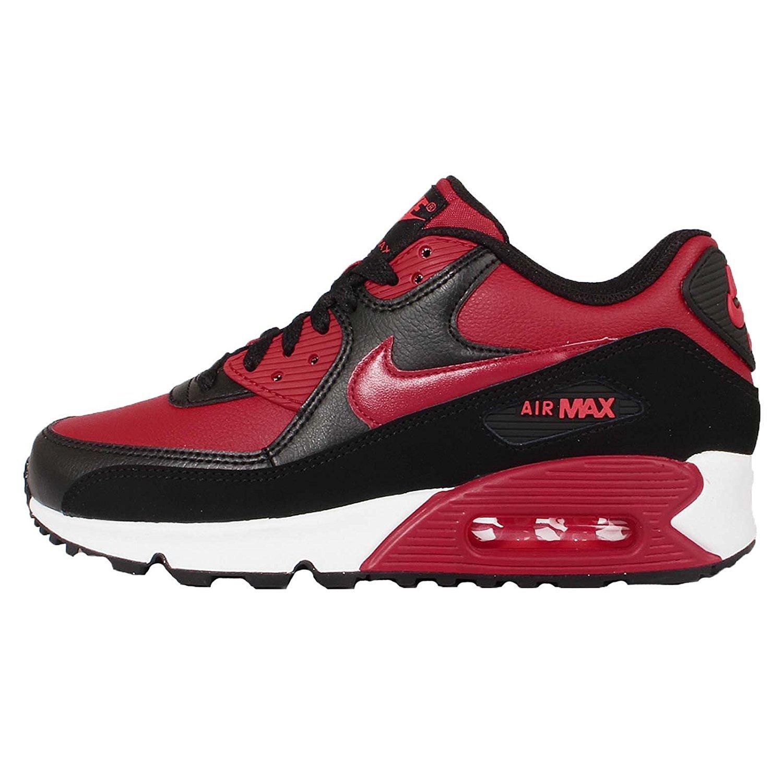 on sale 44d9f 27b20 Nike Air Max 90 LTR (GS), Chaussures de Running garçon, Rouge  Gymnase-Noir-Pourpre Vif, 40 EU: Amazon.fr: Chaussures et Sacs