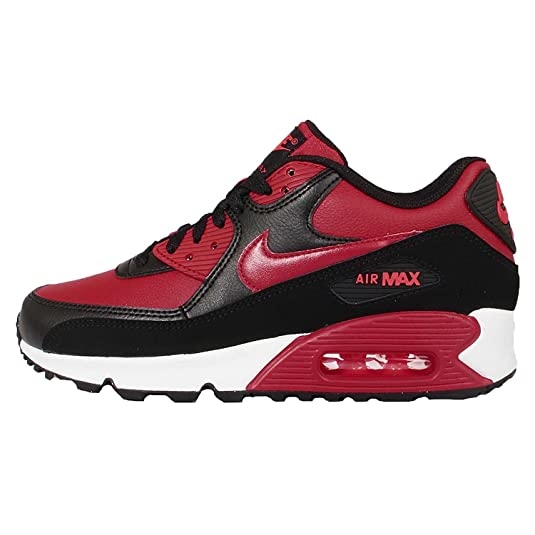 promo code 69a7c f879e Nike Air Max 90 LTR (GS), Chaussures de Running garçon, Rouge  Gymnase-Noir-Pourpre Vif, 40 EU  Amazon.fr  Chaussures et Sacs