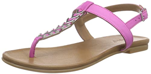 Inuovo6361 Sandali a Punta Aperta Donna Rosa Pink Fuxia 35 Scarpe