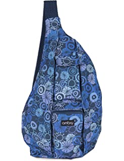 da367696ae Amazon.com  KAVU Women s Rope Sling Bag - Baltic  Sports   Outdoors