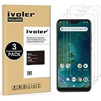 iVoler [3 Pack] Pellicola Vetro Temperato per Xiaomi Mi A2 Lite [Garanzia a Vita], Pellicola Protettiva Protezione per Schermo per Xiaomi Mi A2 Lite - Transparente
