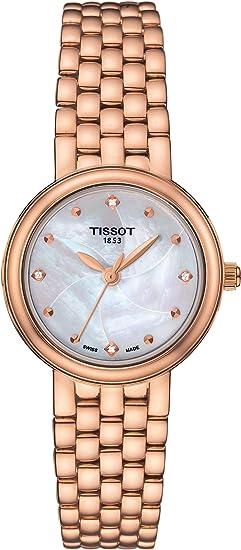 Tissot TISSOT Crinoline 18 KT RG Dia T919.010.77.116.00 Reloj de Pulsera para