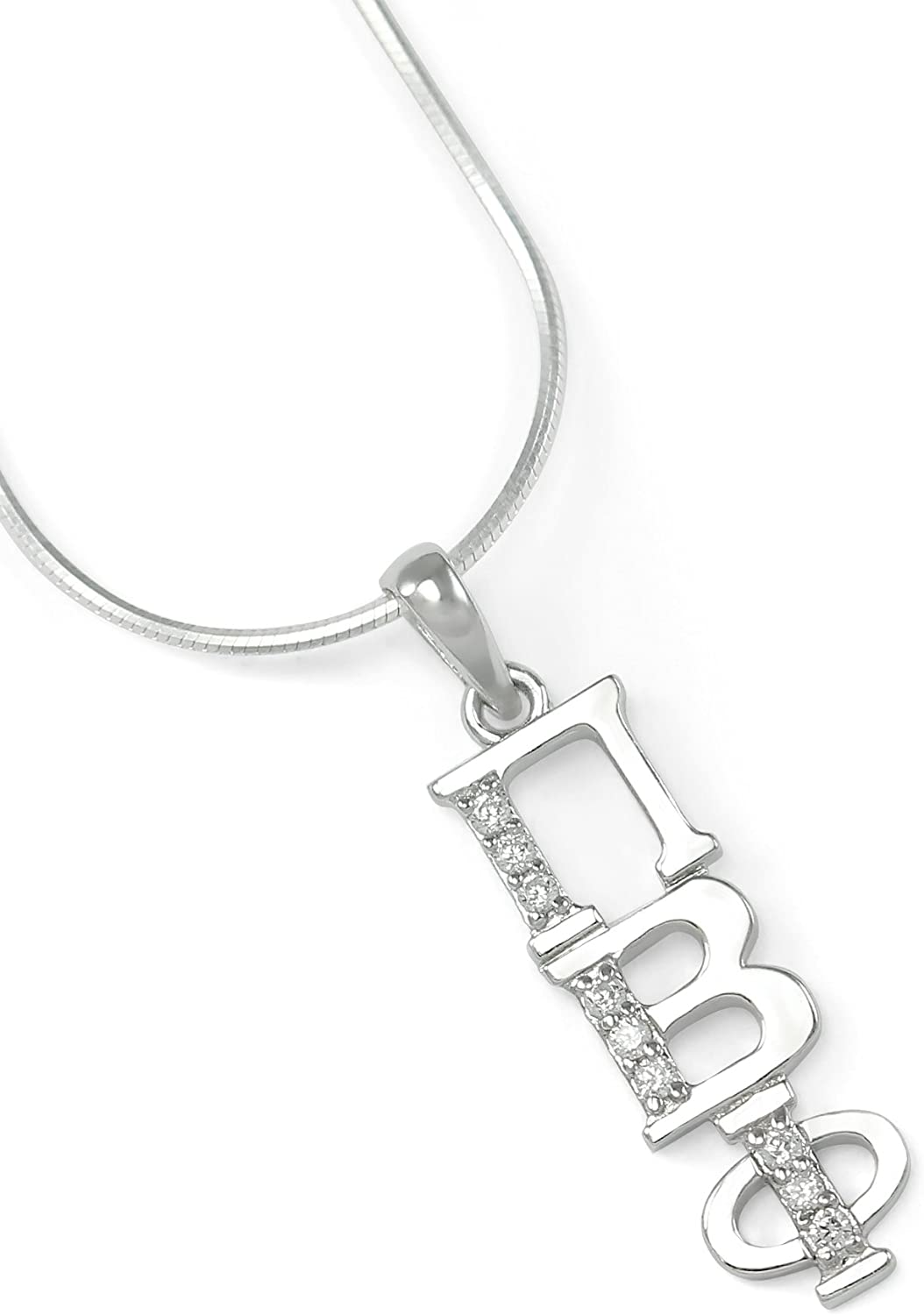 NEW!*** Pi Beta Phi sterling silver lavaliere pendant