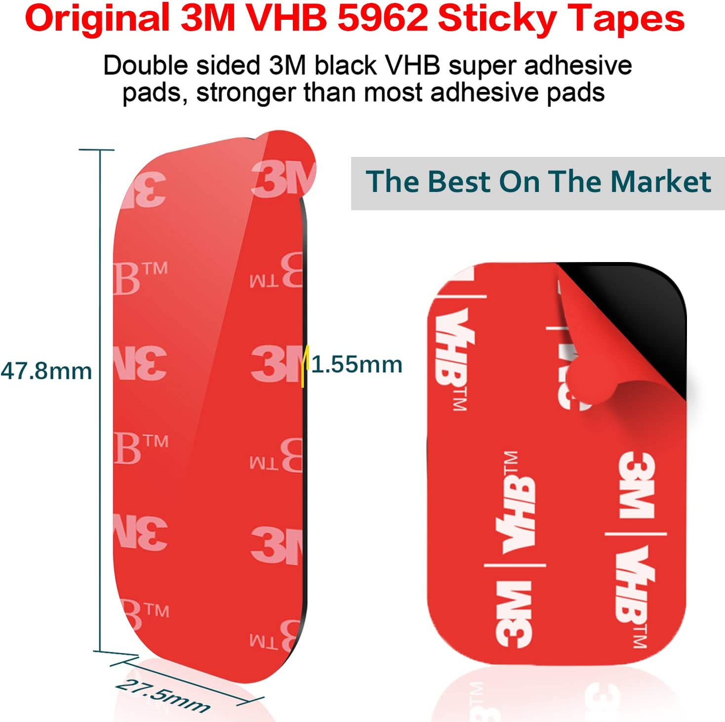 3m Adhesive Pads 10x Diameter 64mm Pad Double Sided Adhesive Tape