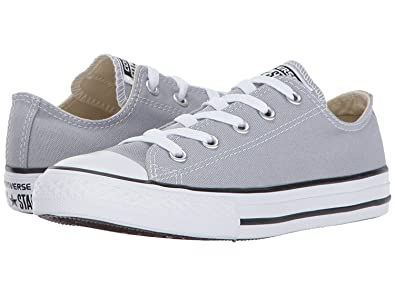 Converse Kids  Chuck Taylor All Star Low Top Fashion Shoe Wolf Grey Size 1.5Y
