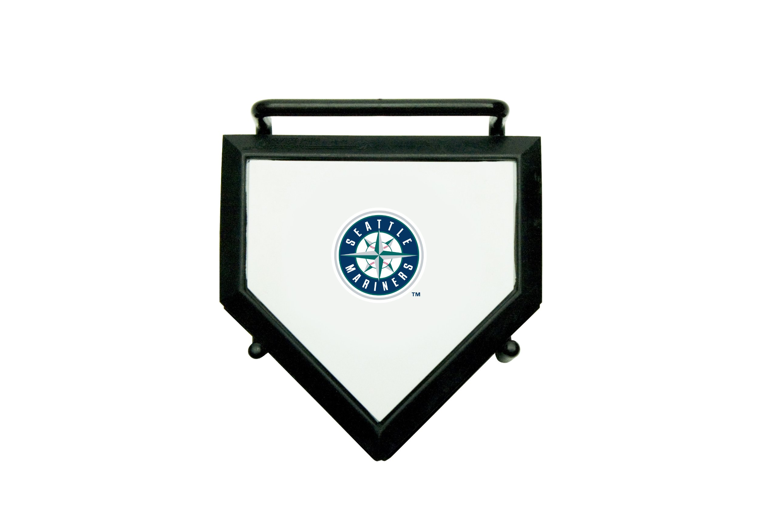 MLB Seattle Mariners Home Plate 4-pack Coaster Set