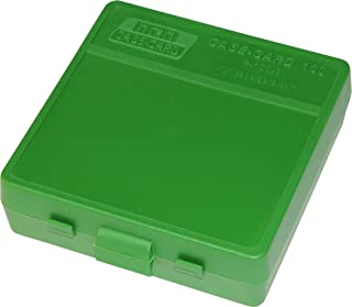 product image for MTM P-100-9-10 100 Round Flip-Top Ammo Box 380/9MM Cal (Green)
