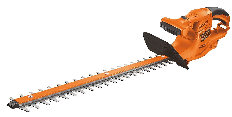 Black+Decker GT4550-QS Cortasetos (450 W) con Longitud de Espada 50 cm y 18 mm de separación Entre Dientes, Naranja: Amazon.es: Bricolaje y herramientas
