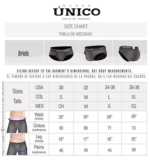 Mundo Unico Underwear for Men Microfiber Boxer Briefs Jaquard Calzoncillos at Amazon Mens Clothing store: