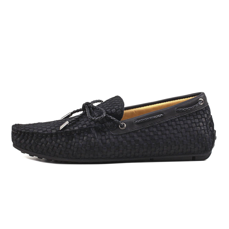 Shenduo Hombre Zapatos de Gamuza - Mocasines cómodos con Cordones de Moda para Hombre D7166: Amazon.es: Zapatos y complementos